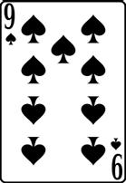 nine spade card  Nine of spades meaning in cartomancy – Latin.cards